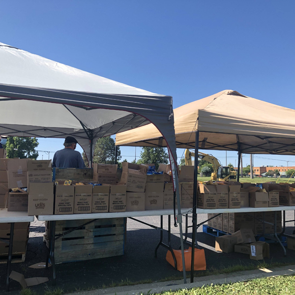 Partnerships Continuing to Feed a Community in Need