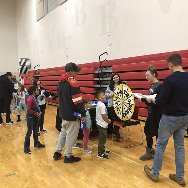 Belle Valley K-8 Schools' 1st Family Fitness Night